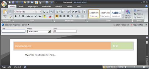 word header designs images word document header