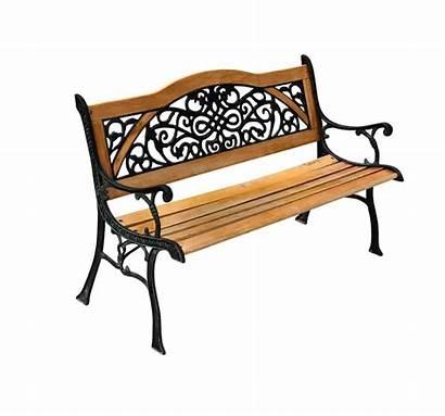 Garden Bench Iron Benches Cast Park Stylish