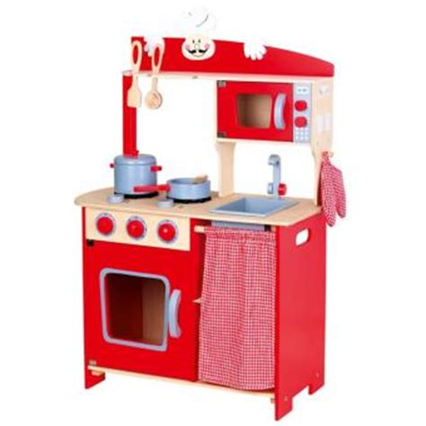 alerte en cuisine cuisine enfant en bois achat prix fnac