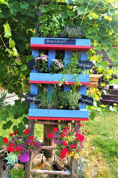 Kräuterregal Für Gartenbalkon Oder Küche Von Xasaya Auf