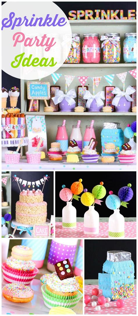 baby sprinkle decorations sprinkles with sweet treats and desserts birthday