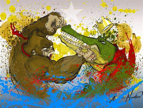 Donkey Kong Battle For Bananas By Smthcrim89 On Deviantart