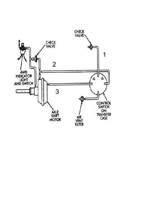 Chevy 4wd Actuator Valve Wiring Diagram by 2000 Gmc Jimmy Transmission Solenoid Location