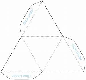 Best 25 triangle template ideas on pinterest layout for Triangle packaging template