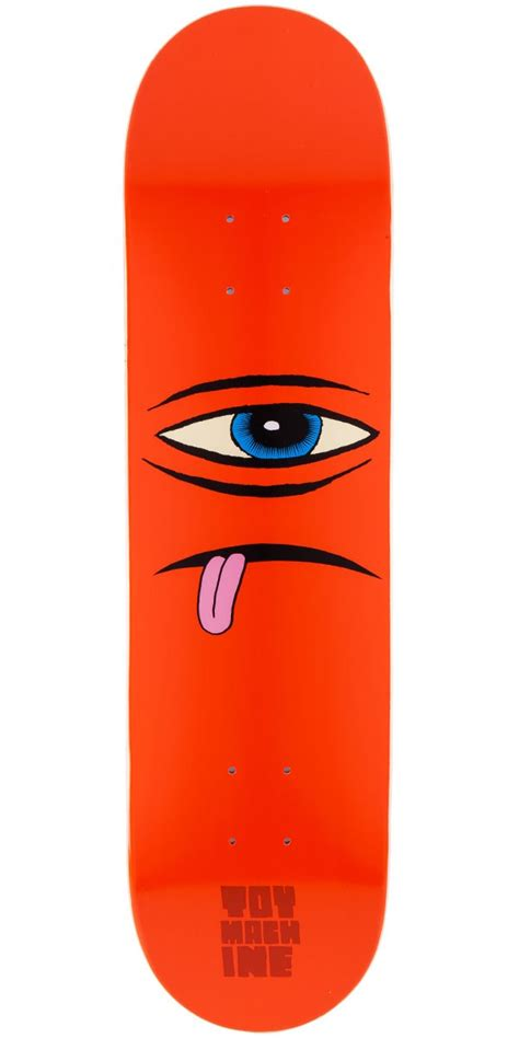 Machine Skateboard Decks by Machine Sect Skateboard Deck Orange 7 875 Quot