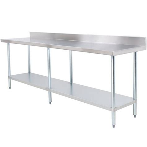 kitchen vegetable cutting table kitchen equipment stainless steel food counter for