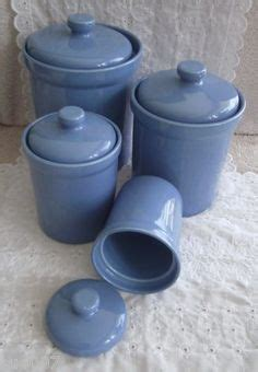 light blue kitchen canisters reserved kitchen canister set of four glass with wood 6961