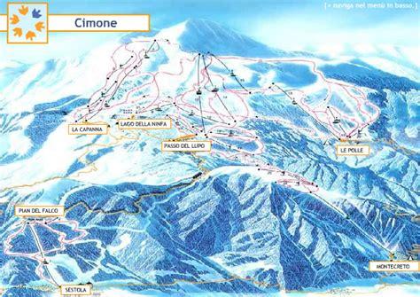 cimone ski resort guide location map cimone ski holiday
