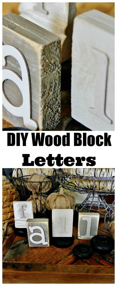 wood block letters trash to treasure diy wood block letters thistlewood farm