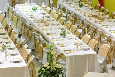 deco mariage or et blanc