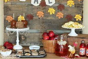 Fall Party: Candy Apple Bar - Giggles Galore