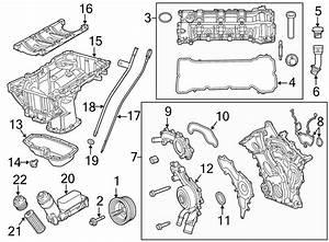 Volkswagen Routan Engine Oil Filter Element  3 6 Liter  Routan  3 6l