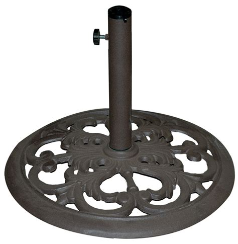 cast iron umbrella base stand 30lb