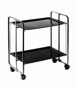 Table Pliante Noire : table roulante pliante noire et ch ssis noir 3 positions ~ Teatrodelosmanantiales.com Idées de Décoration