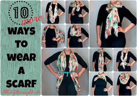 10 More Ways To Wear A Scarf  All That Glitters