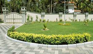 Garden design kerala home design for Latest landscape design