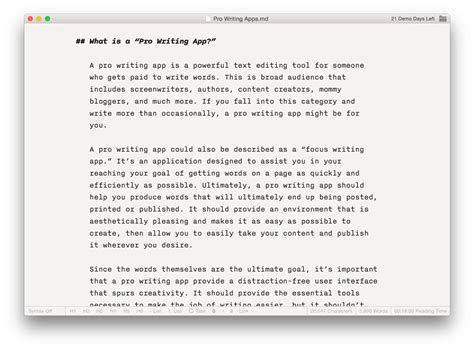 the best writing app for mac and iphone the sweet