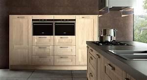 Cuisine Bois Massif : cuisine bois moderne archives le blog sagne cuisines ~ Premium-room.com Idées de Décoration
