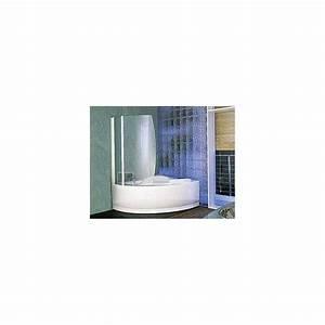 Paroi Baignoire D Angle : paroi aurora 8 pour baignoire una gamme novellini ~ Premium-room.com Idées de Décoration
