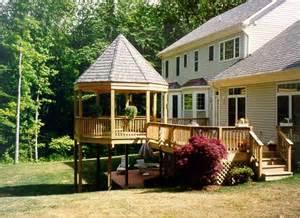 beautiful deck patios and gazebo dreamer