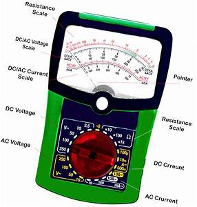 Digital Multimeter Working Principle