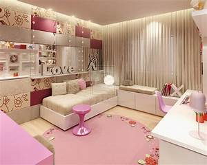 Girly bedroom design ideas wonderful for Girls bedrooms