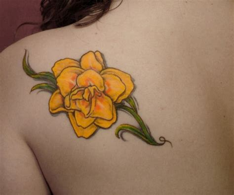 yellow rose tattoos designs ideas  meaning tattoos