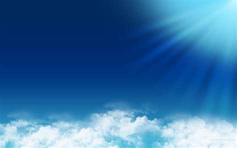 blue sky wallpaper background wallpapersafari