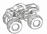 Monster Coloring Truck Trucks Sheets Printable Max 4x4 Boys sketch template