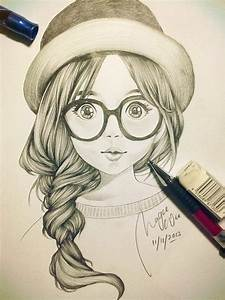 Pictures: Cute Cartoon Girls To Draw, - DRAWING ART GALLERY