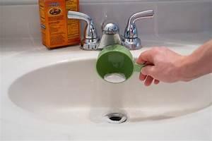 how to clean black sludge in bathroom sink drains ehow With how to clean bathroom drain pipe