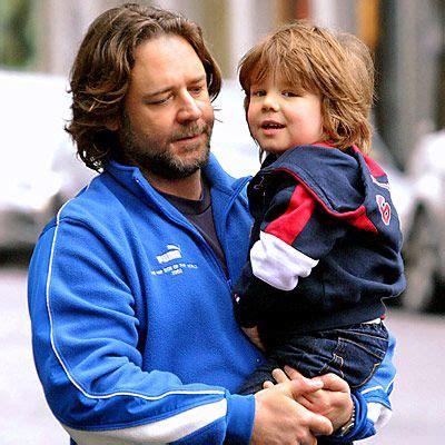 Russell Crowe Sons Charlie Russel