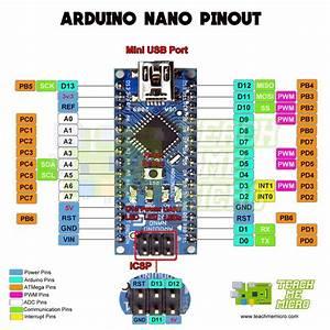 Arduino Nano Pinout Diagram In 2020