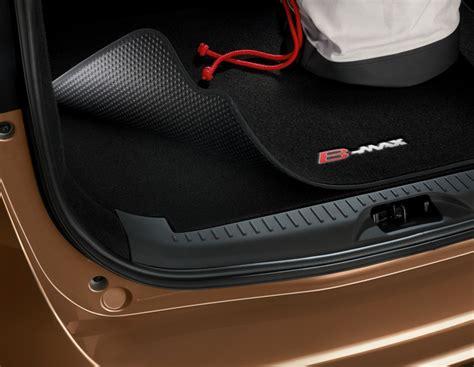 tapis de coffre reversible noir avec logo b max ford accessoires en ligne