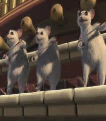 3 Blind Mice Quotes Shrek