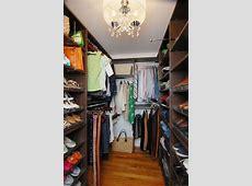 Small Walkin Closet, Annapolis Contemporary Wardrobe