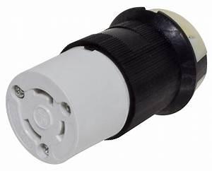 Mighty Cord 30a Detachable Connector W   Female Twist Lock
