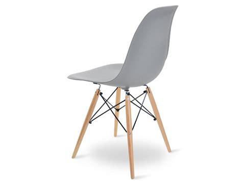 chaise gris clair chaise dsw gris clair