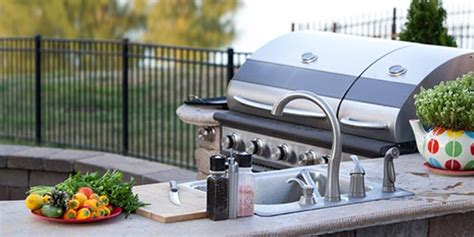 outdoor grill with sink 8 tips for designing an awesome outdoor kitchen