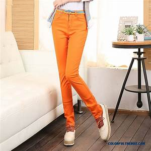 Cheap Fall Clothing New Arrival Candy Colored Elastic Pencil Pants Large Size Pants Leggings ...