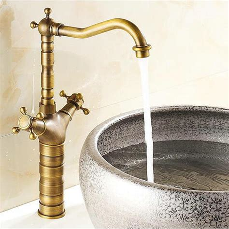 shipping vintage kitchen faucet antique finishing