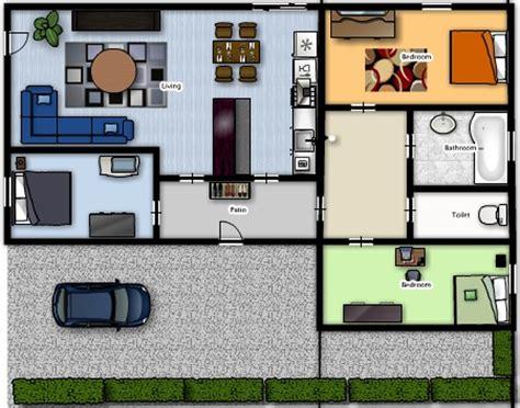 appartement 3 chambres plan d 39 appartement 3d gratuit