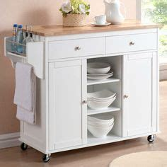 meryland white modern kitchen island cart our new kitchen cart i m in real simple 174 kitchen 9742