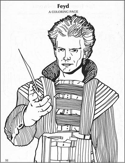 Dune Coloring Pages 1984 Sting Activity Books
