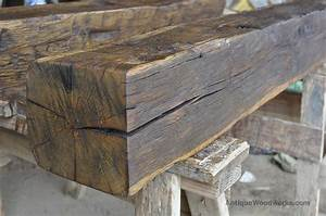 hand hewn oak fireplace mantel beam smoke kools With cost of reclaimed wood beams