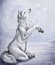 Anime Wolves Digital Art