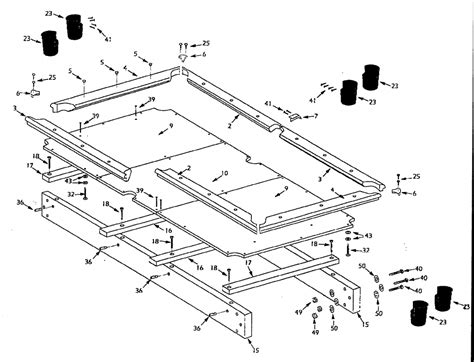 pool table design plans build a pool table pool table plan cool woodworking plans