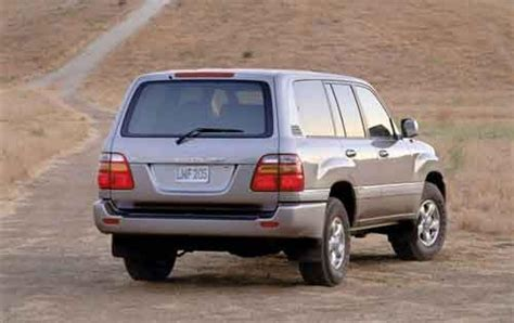 2002 Toyota Land Cruiser by 2002 Toyota Land Cruiser Information And Photos