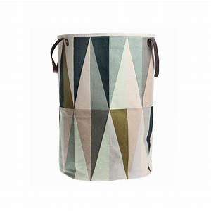 Panier A Linge Design : panier linge panier spear en coton bio ferm living pure deco ~ Teatrodelosmanantiales.com Idées de Décoration