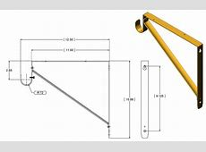 brackets What is the standard distance a closet rod